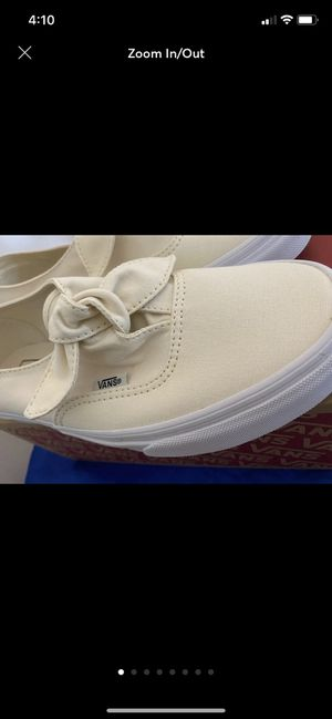 Canvas knotted vans for Sale in Carson, CA