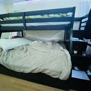 Bunk Bed With Cabinet for Sale in Long Beach, CA