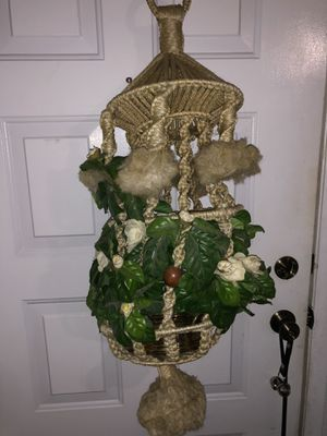 Large Yellow Plant Holder for Sale in North Las Vegas, NV