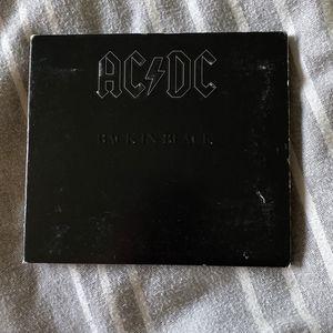 Back In Black AC/DC ACDC ALBUM Rock CD for Sale in Fresno, CA
