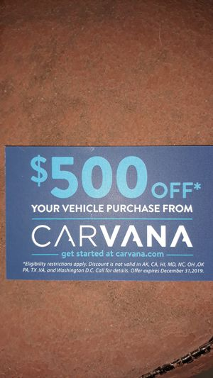 $500 off Carvana Referral for Sale in Vestavia Hills, AL