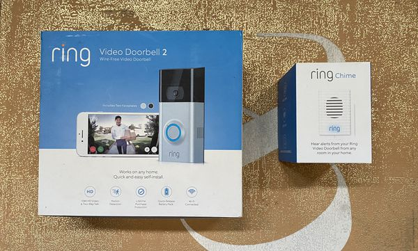 Ring Video Doorbell 2 with Ring Chime