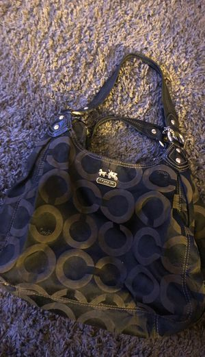 Coach designer purse black for Sale in Phoenix, AZ