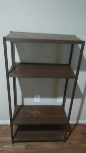 Industrial brown metal shelving unit for Sale in Tolleson, AZ
