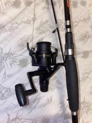 """6'6"""" Srs fishing rod & shimano reel for Sale in Brooklyn, NY"""