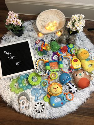 Baby's teether toy lot for Sale in Houston, TX