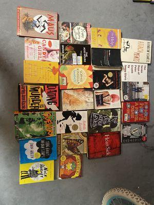 books bin full for $20 all for Sale in Kissimmee, FL