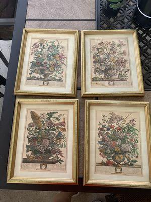 Floral art print frames for Sale in West Covina, CA