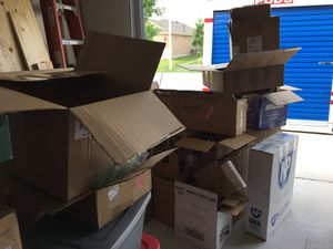 FREE Boxes Packing materials for Sale in Georgetown, TX