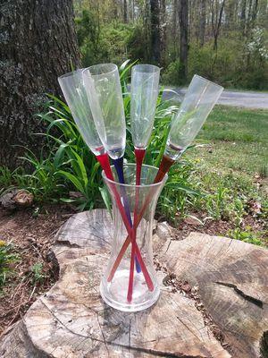Champagne flutes for Sale in Bristow, VA