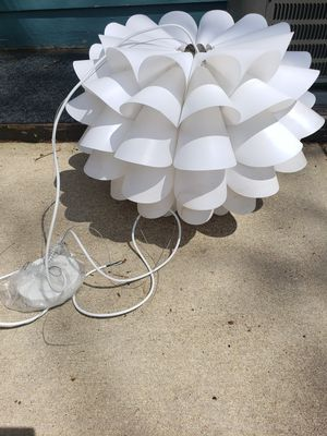 Art Deco White Chandelier for Sale in Westlake, OH
