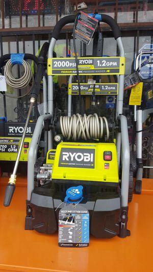 2000 psi pressure washer ryobi for Sale in Dallas, TX