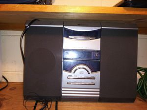 2 cassette and cd player for Sale in Dearborn, MI