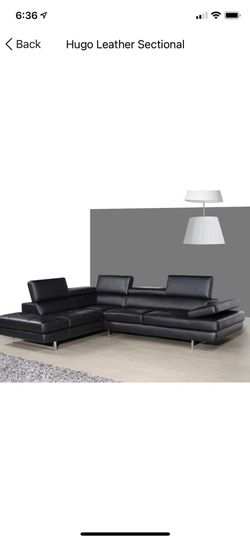 Italian Leather Sectional Sofa for Sale in Gibsonia,  PA