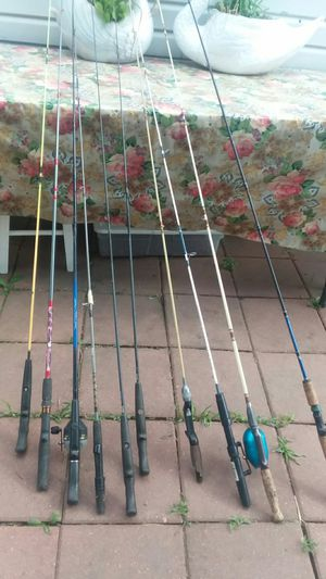 Fishing rods for Sale in Melrose Park, IL