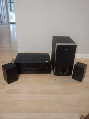 Sony surround sound system $100 for Sale in West Palm Beach, FL