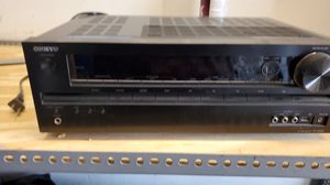 Onkyo av reciever HTR590 for Sale in Cleveland, OH