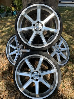 Rims and tires for Sale in San Antonio, TX