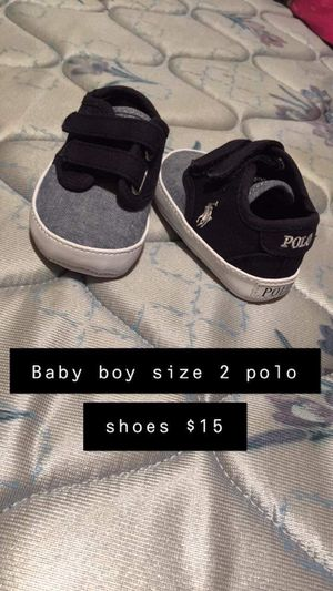 Boys size 2 polo shoes now $5 for Sale in Leeds, AL