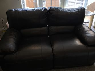 Real Leather Motor Powered Reclining Couch And Love Seat for Sale in San Diego,  CA