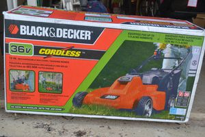 Black and Decker Cordless Mulching Lawn Mower for Sale in Chantilly, VA