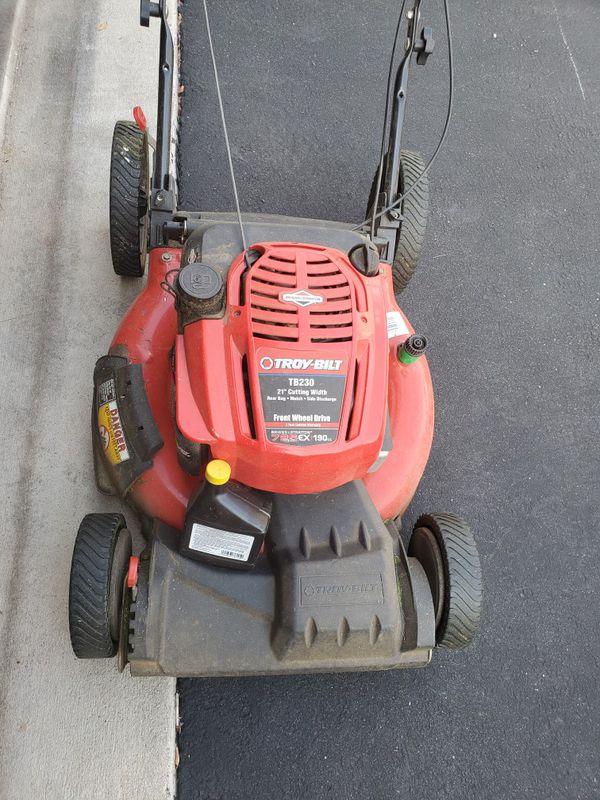 troybilt mower