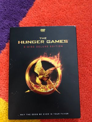 Hunger Games 3 disc deluxe edition for Sale in Indian Trail, NC
