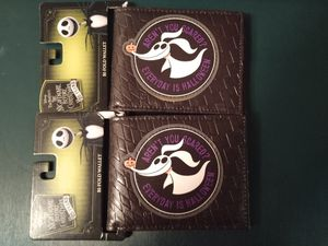 Disney the nightmare before Christmas wallet for Sale in Vancouver, WA