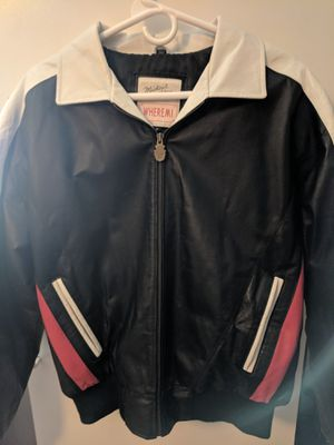 USA Michael Holden Wheremi vintage leather jacket size Med for Sale in East Peoria, IL