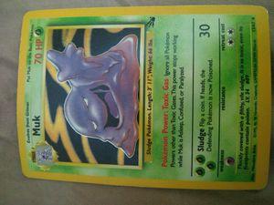Pokemon Muk Holographic 13/62 for Sale in Murrieta, CA