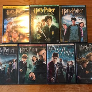 Harry Potter DVD's 1-7 Part 1 for Sale in Pittsburgh, PA