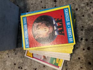 Alf 2 complete 66 Card Set w/Bouillabaseball + 11 Stickers + Pack Topps 1987 for Sale in Spanaway, WA