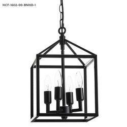 Merra 9.5 in. 4-Light Black Caged Chandelier for Sale in Dallas,  TX