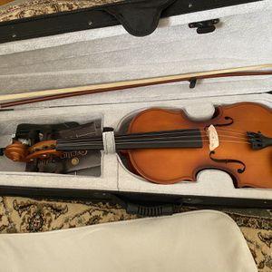 Mendini Violin -Antique Color - 4/4 - W/ Case & Book - BRAND NEW for Sale in Alexandria, VA