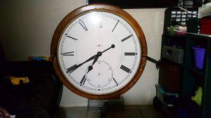 Howard Miller 42in wall clock for Sale in Abilene, TX
