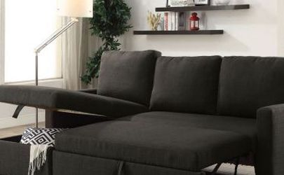 Sectional Sofa Sleeper With Storage Linen for Sale in Miami,  FL