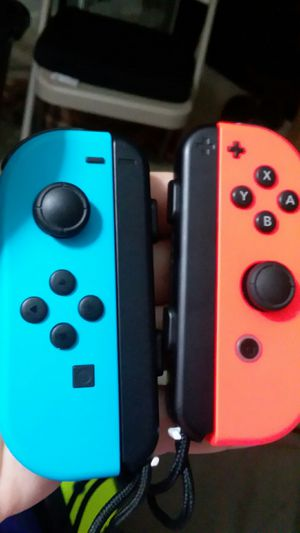 Nintendo joycons light blue and red for Sale in Palmyra, PA