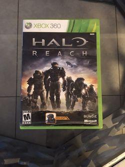 Halo Reach On Xbox 360 for Sale in Pompano Beach, FL