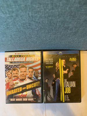 THE ITALIAN JOB & TALLADEGA NIGHTS: THE BALLAD OF RICKY BOBBY for Sale in New York, NY