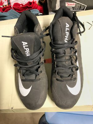 Nike cleats size 7w for Sale in Severn, MD