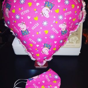 Peppa Pig Heart Pillow And Facemask To Match for Sale in Cayce, SC