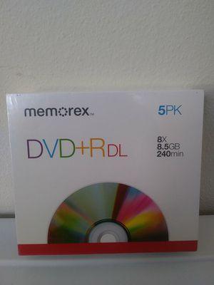 Memorex DVD +R Dual Layer Brand New Sealed for Sale in La Puente, CA
