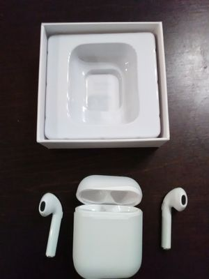 New white Bluetooth wireless headphones earbuds for iPhone and android longer battery life. Not airpods but are the same size for Sale in Phoenix, AZ