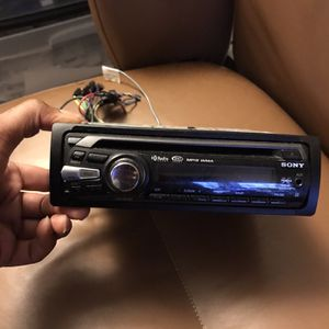 Sony Car Radio for Sale in Clinton, MD