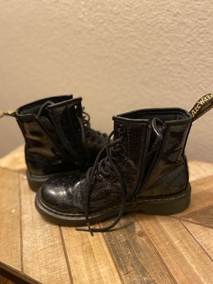 Dr. Martens Glitter side zipper Boot Size 4M for Sale in Montclair, CA