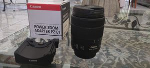 Canon 18-135mm USM lens with Power Zoom Adapter for Sale in Southwest Ranches, FL