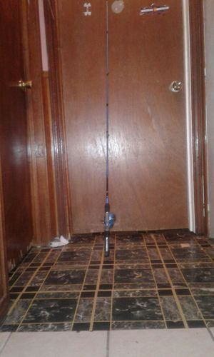 5ft Blue and black fishing rod 7$ for Sale in Mesquite, TX