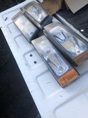 04 Silverado headlights for Sale in Chelsea, MA