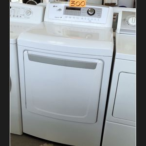 LG Withe Gas Dryer for Sale in Long Beach, CA