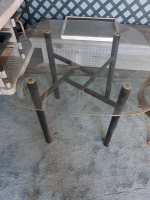 Smaller glass kitchen table for Sale in Plant City, FL